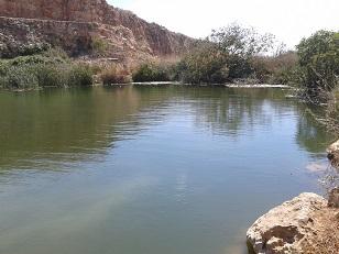 אגם המחצבה בגעתון