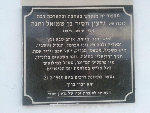 מצפור גדעון בחיפה