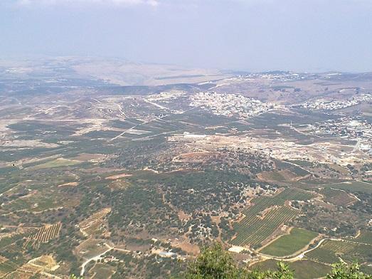 שביל הפיסגה בהר מירון
