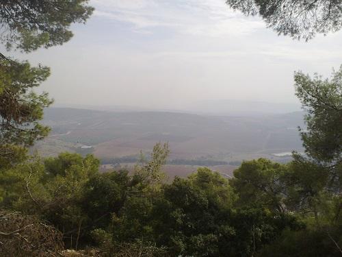 שביל הפסגה בהר תבור