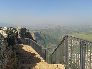 ממגדל לכנרת על שביל ישראל