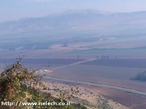 מסדקי יפתח לקרן נפתלי על שביל ישראל