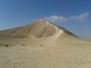 מקבר בן גוריון לגן לאומי עבדת דרך חוד עקב ועין עקב על שביל ישראל