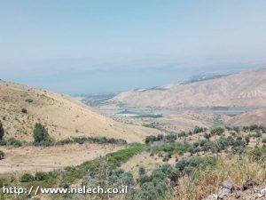 שביל הגולן מעין קשתות לגבעת יואב